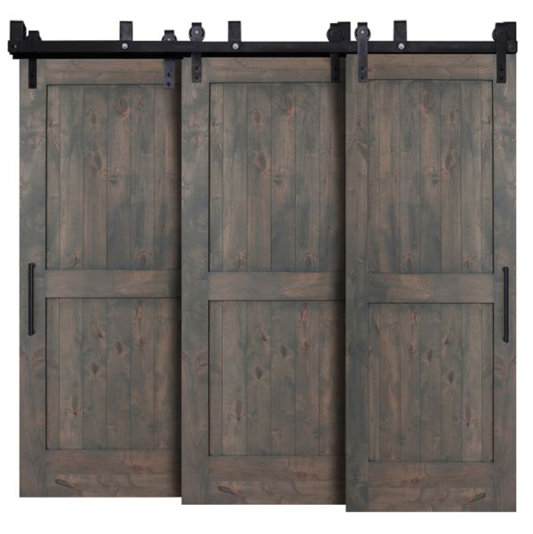 Fraction Triple Bypass Barn Doors