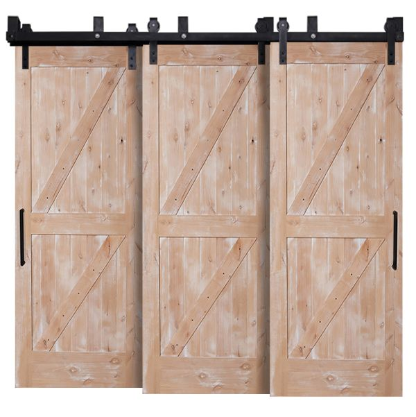 Dutch Z Triple Bypass Barn Doors