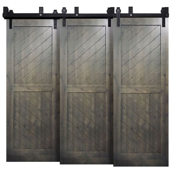 Horizon Triple Bypass Barn Doors