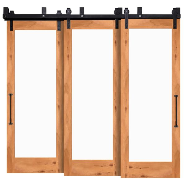 Manor Triple Bypass Barn Doors