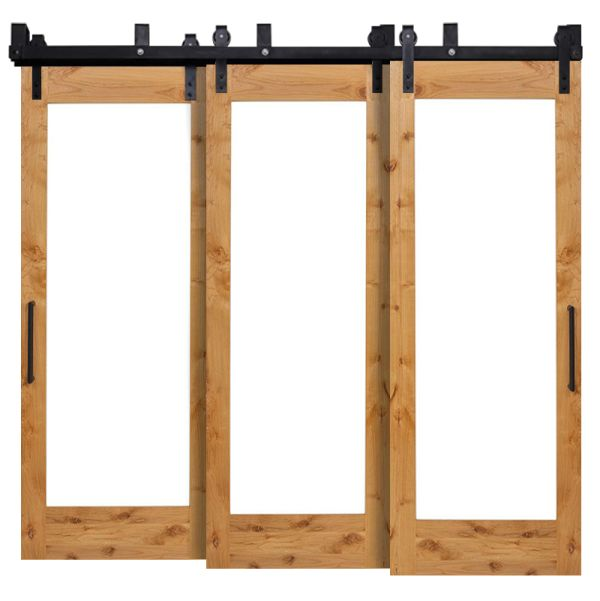 Pearce Triple Bypass Barn Door
