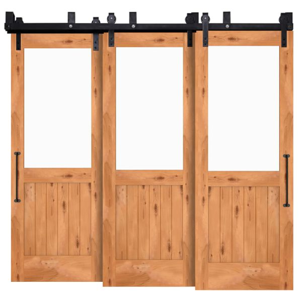 Riverside Triple Bypass Barn Door