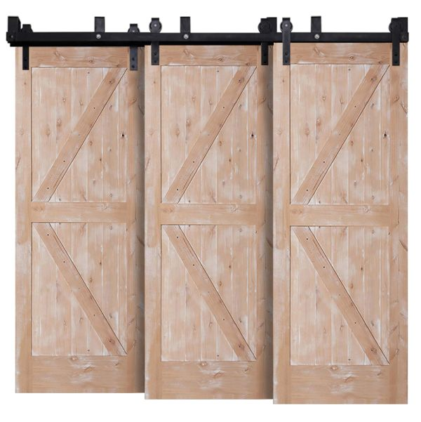Stable Triple Bypass Barn Doors