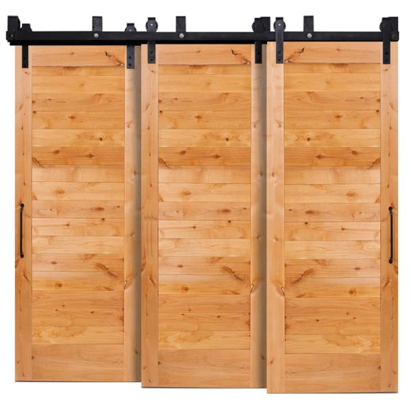 Summerhouse Triple Bypass Barn Doors