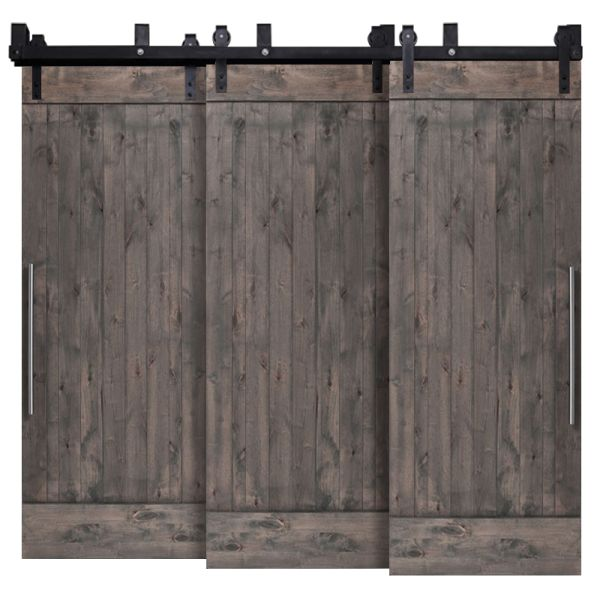 True Triple Bypass Barn Doors