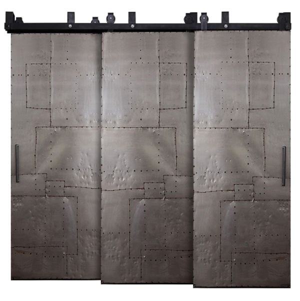 Mountain Scrap Triple Bypass Barn Doors