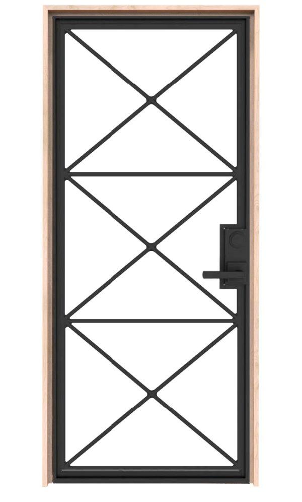 Noble Metal Exterior Door