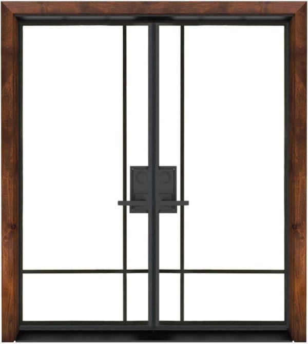 Traveler Exterior Double Door