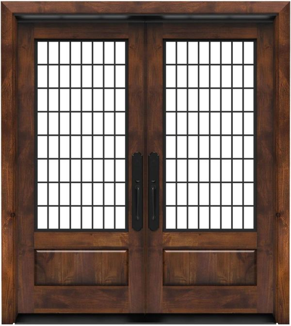 Grindstone Double Front Door