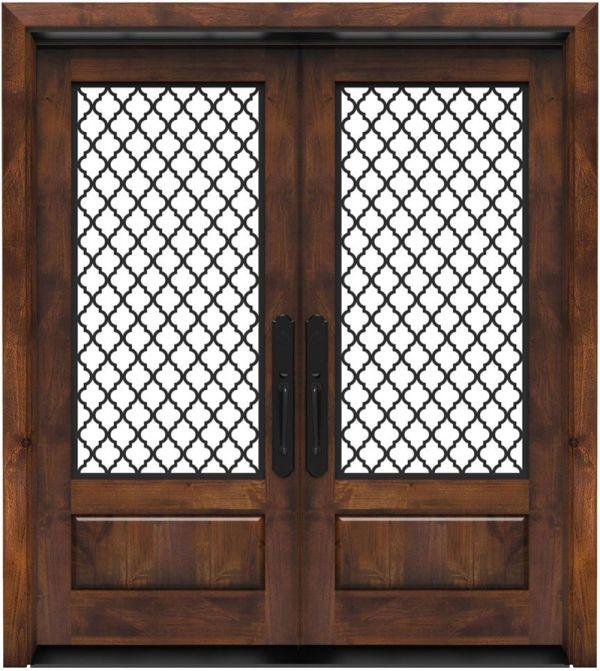 Hudson Floral Double Front Door
