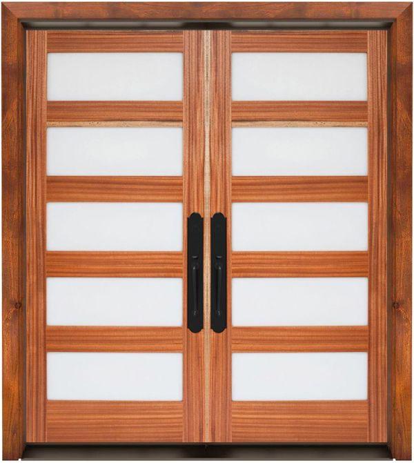 5 Panel Exterior Double Door