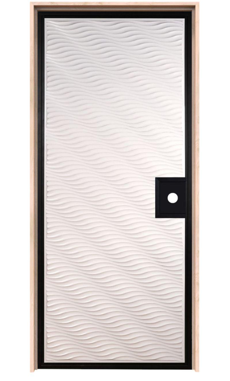 Dunes Textured Exterior Door
