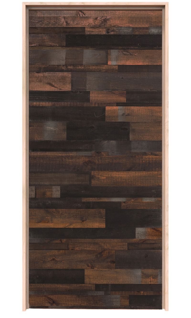 Horizontal Rustica Reclaimed Exterior Door