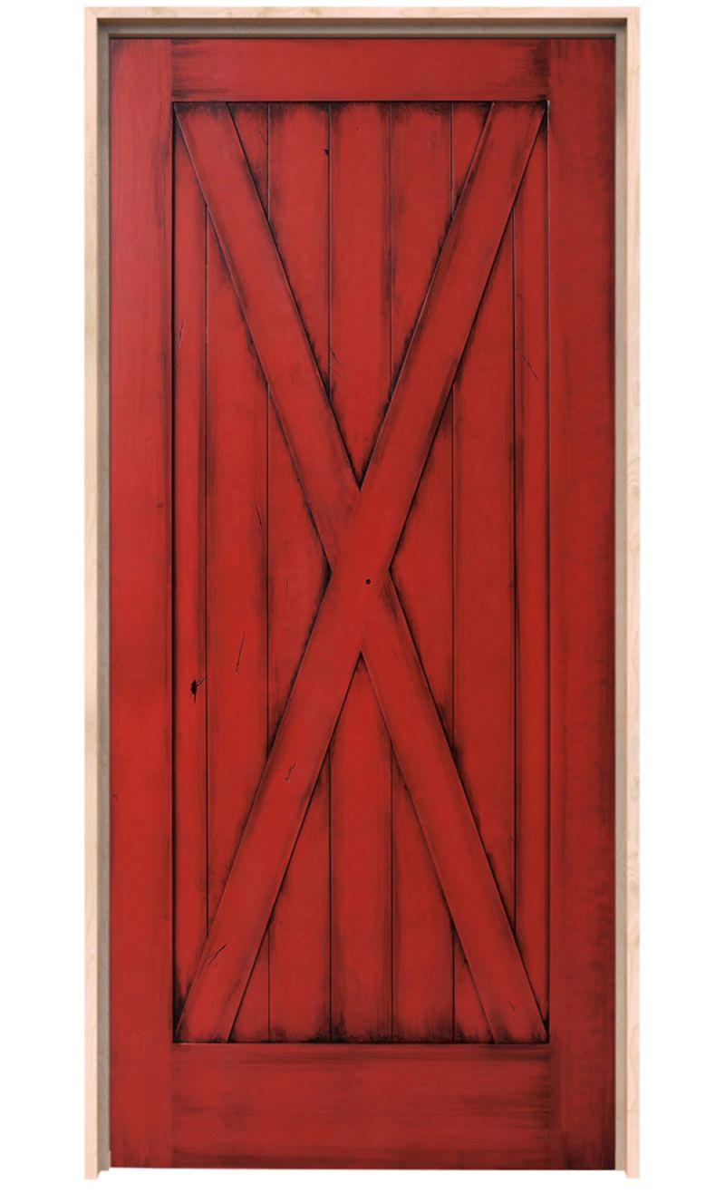 Full X Exterior Door