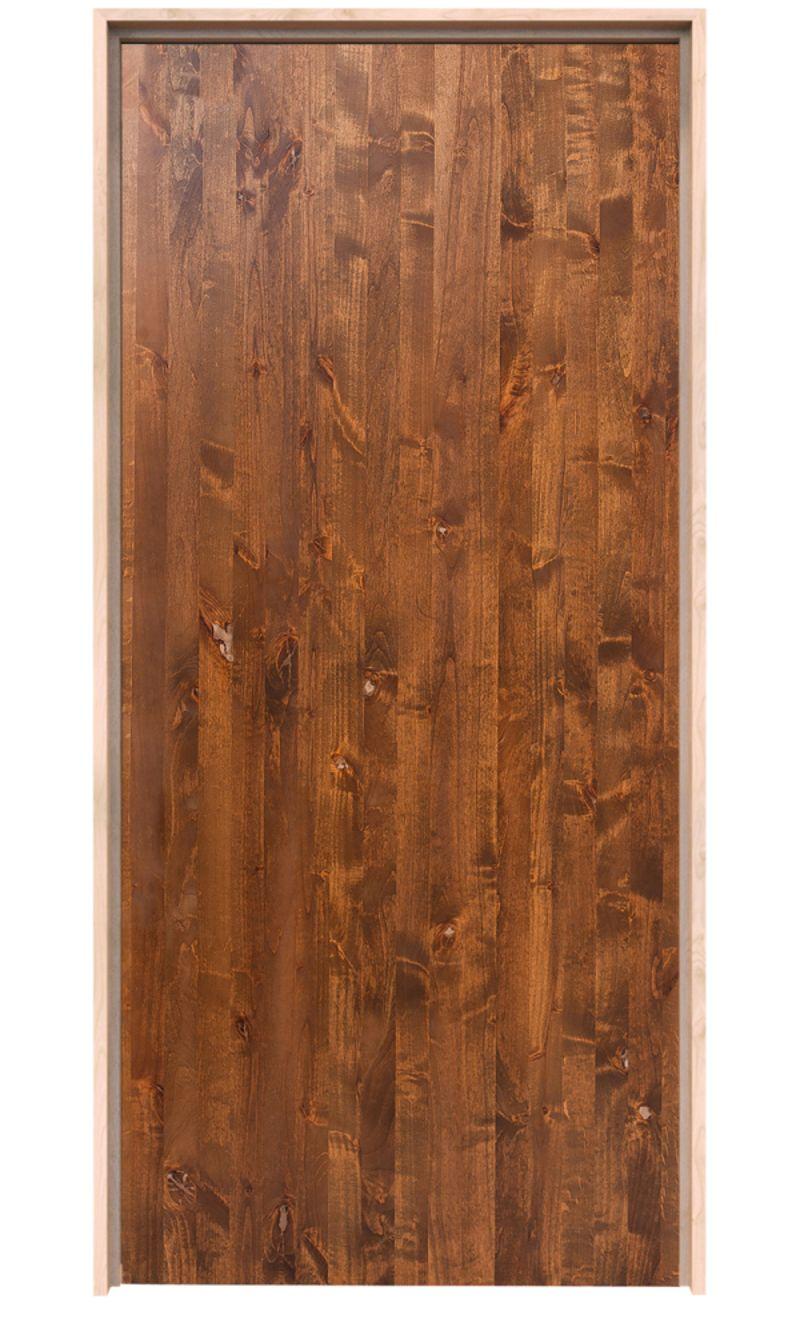 Modern Slab Exterior Door