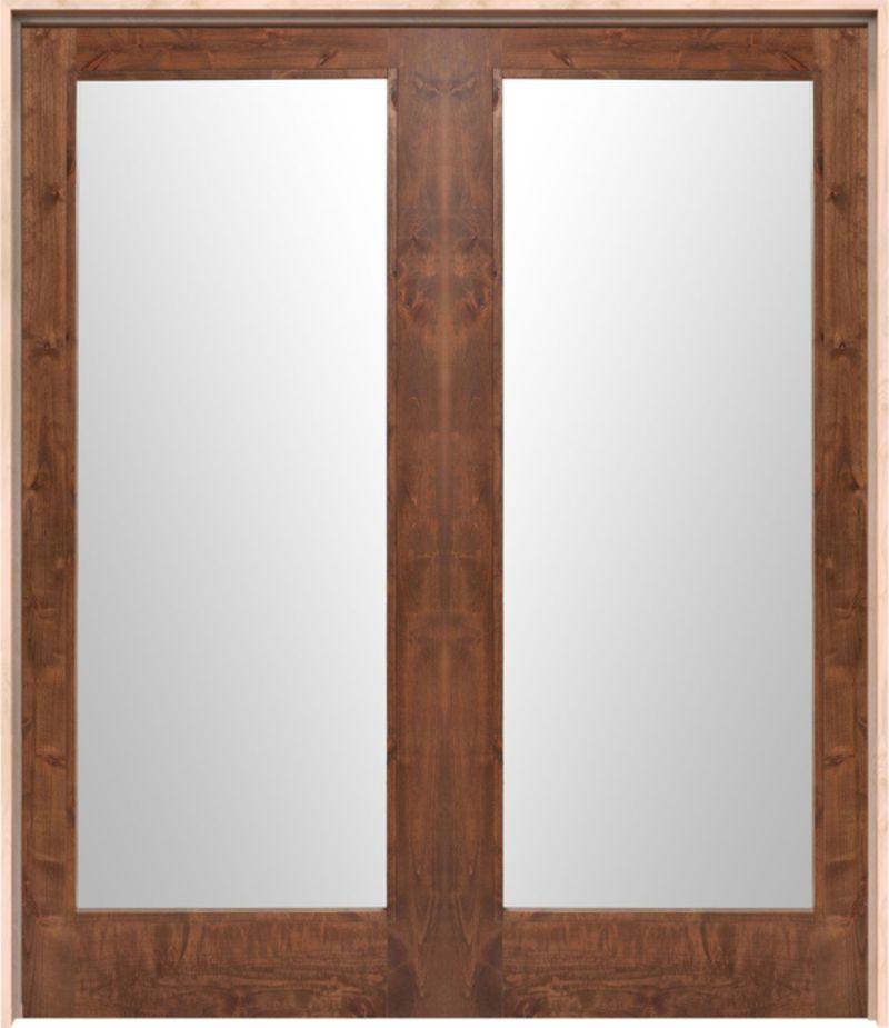 Mirror Exterior Double Door