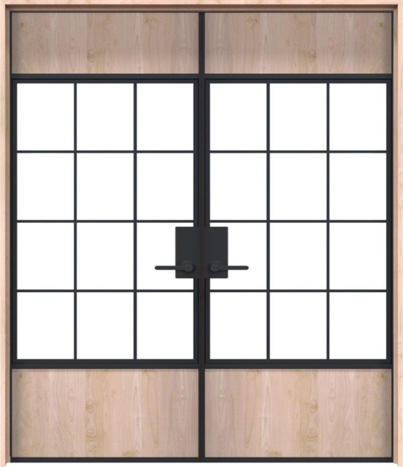 Farm Yard Exterior Double Door
