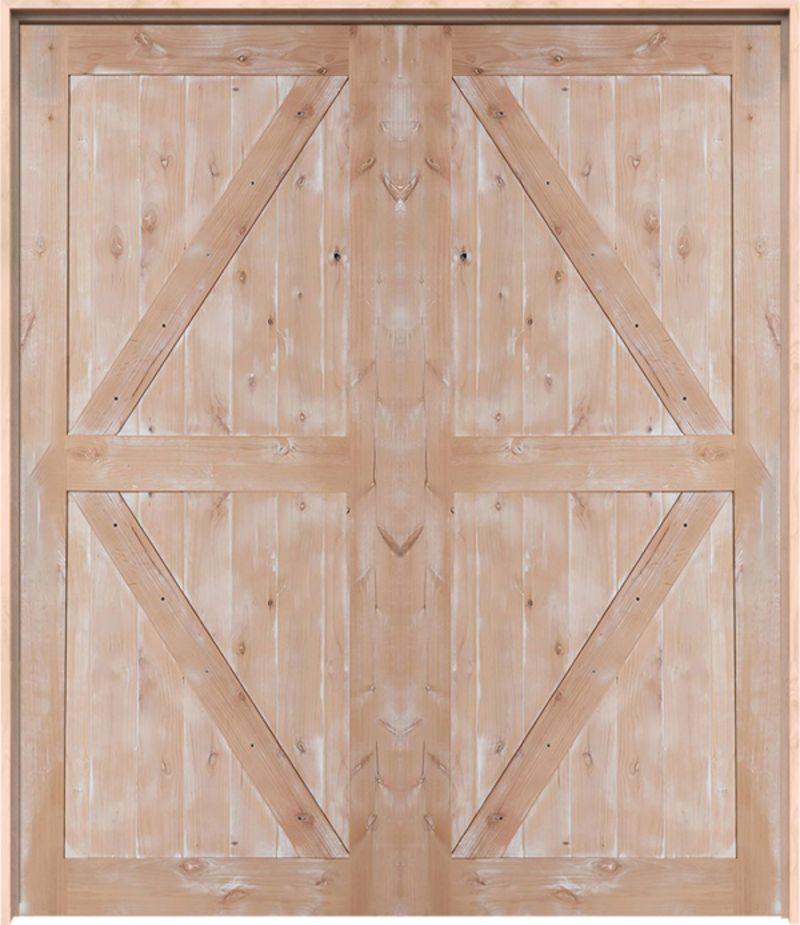 Stable Exterior Double Door