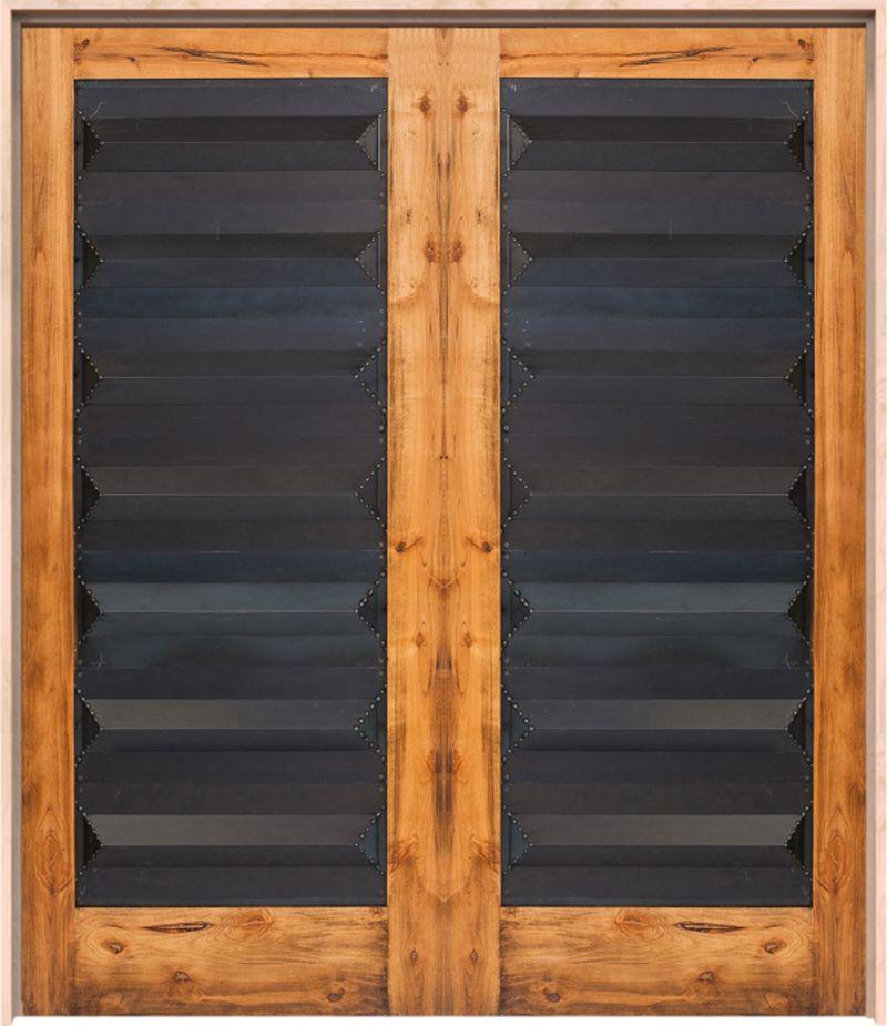 Helms Exterior Double Door