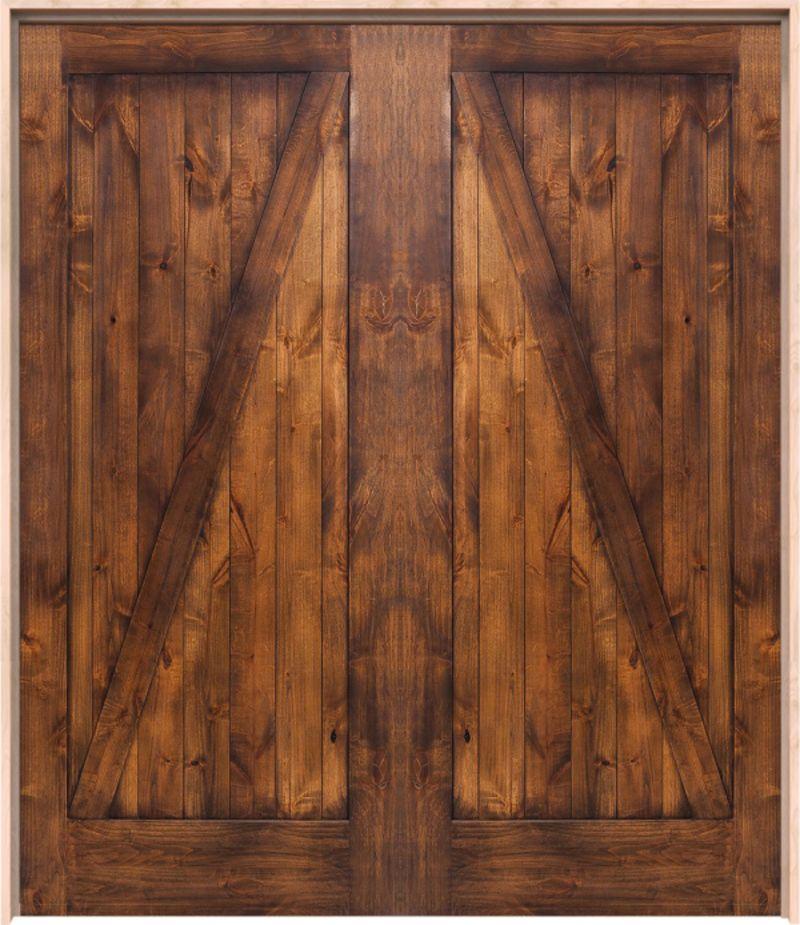 Z Barn Exterior Double Door