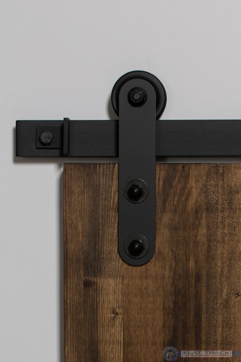 307 Top Rounded Mini Barn Door Hardware