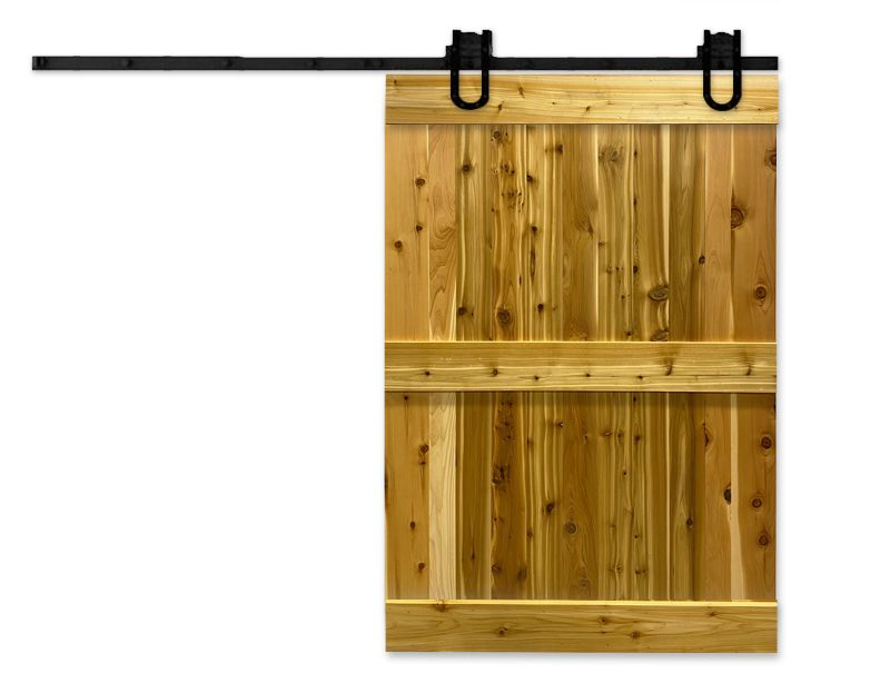 Rustic Exterior Barn Door