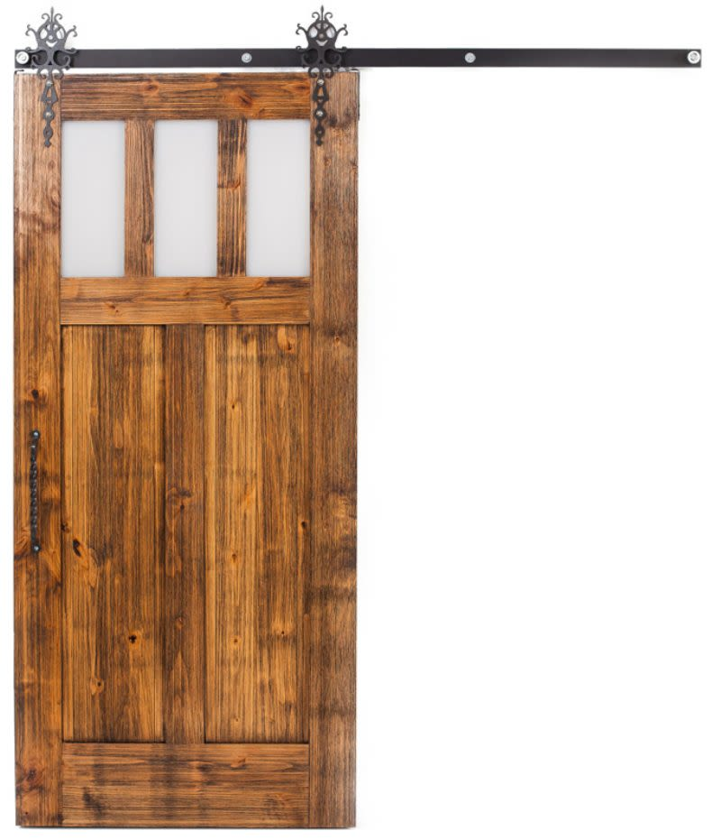 Craftsman Barn Door
