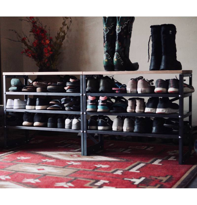 All In One Entry Bench + Shoe Rack