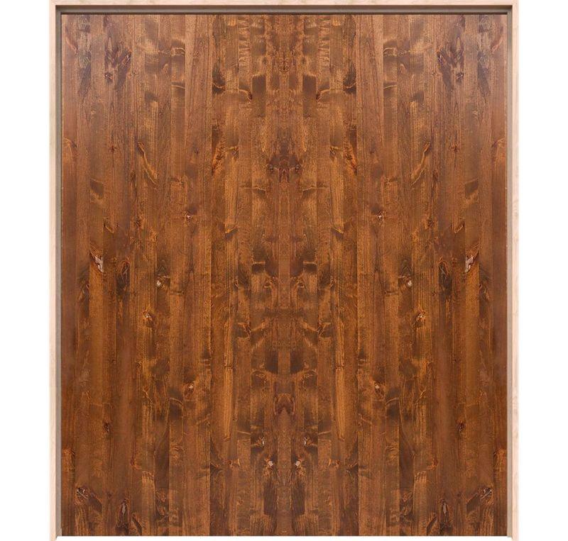 Modern Slab Interior Double Door
