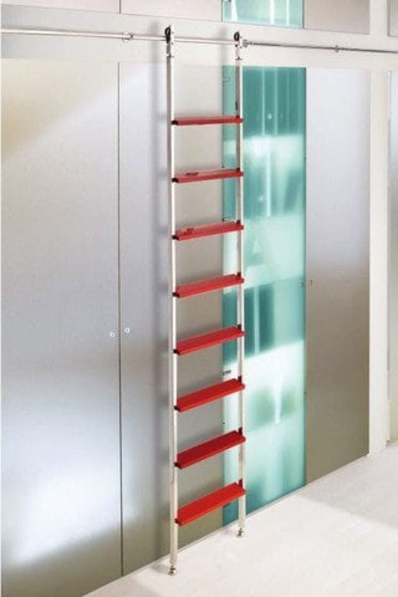 SL.6003.AK Akzent Sliding Telescoping Ladder