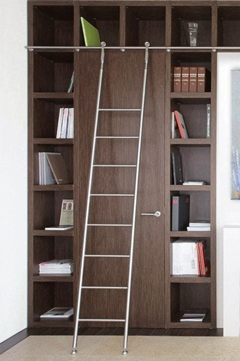 SL.6003.KL Klassik Sliding Telescoping Ladder