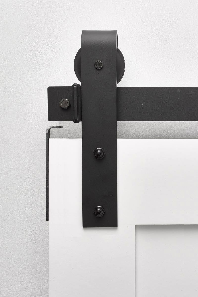 Stag Industrial Barn Door Hardware