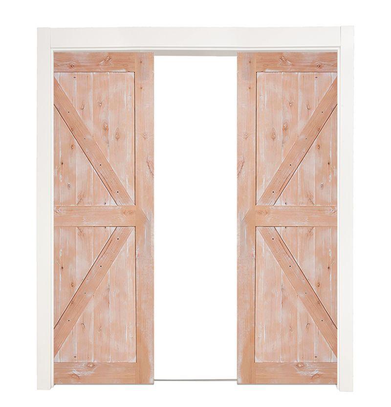 Stable Double Converging Pocket Doors