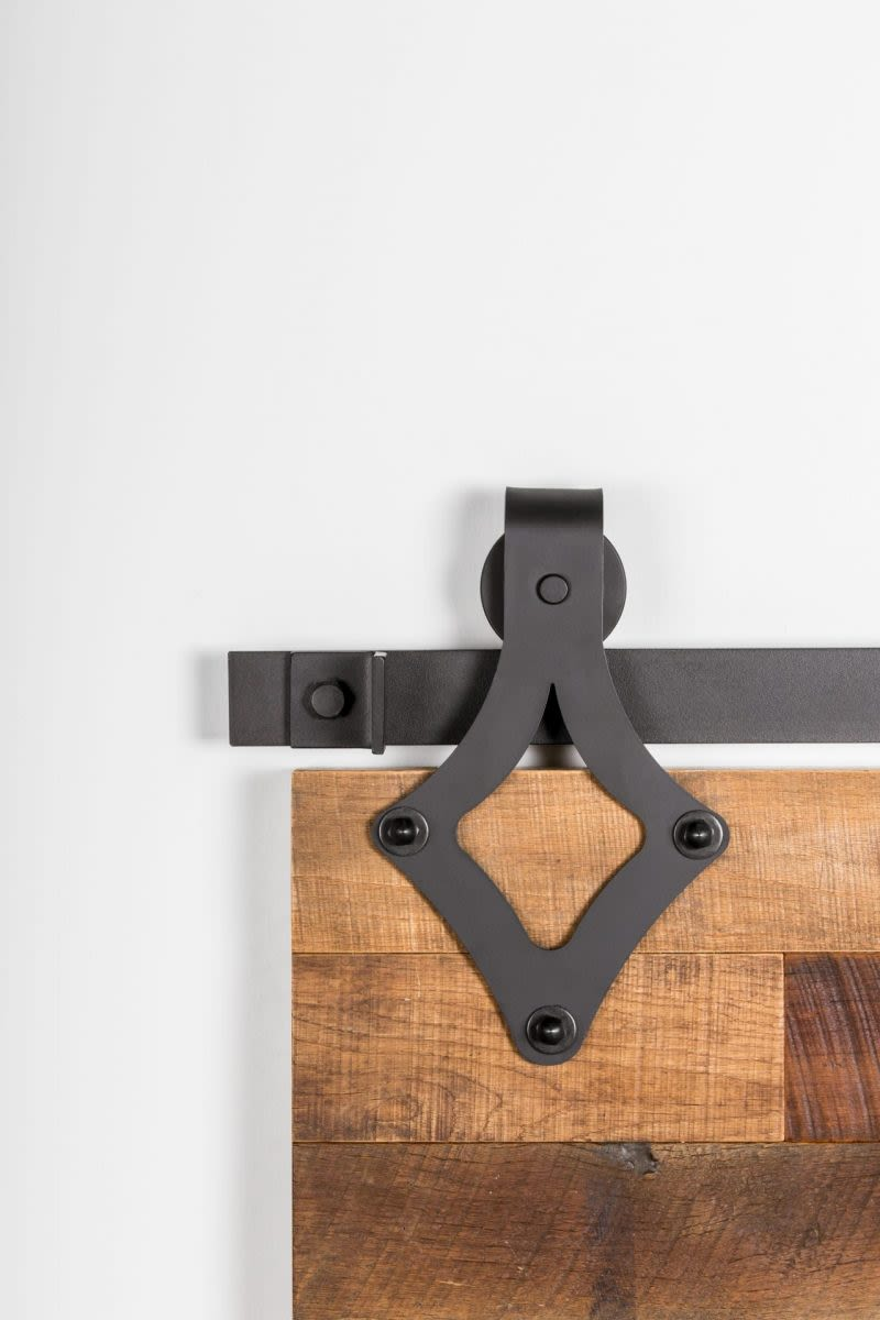 411 Wide Teardrop Barn Door Hardware