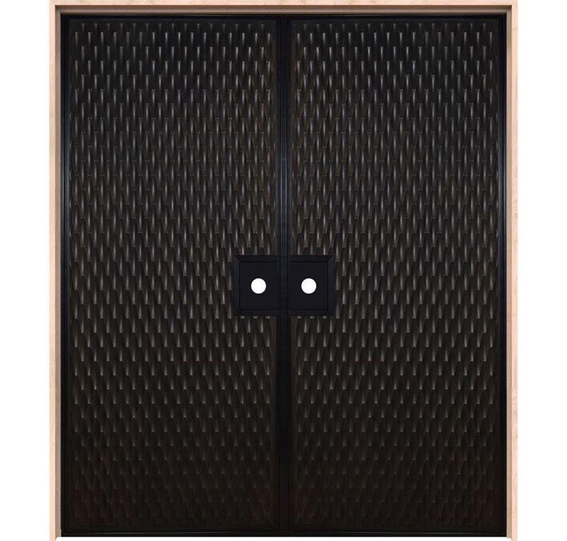 Scallop Interior Double Door