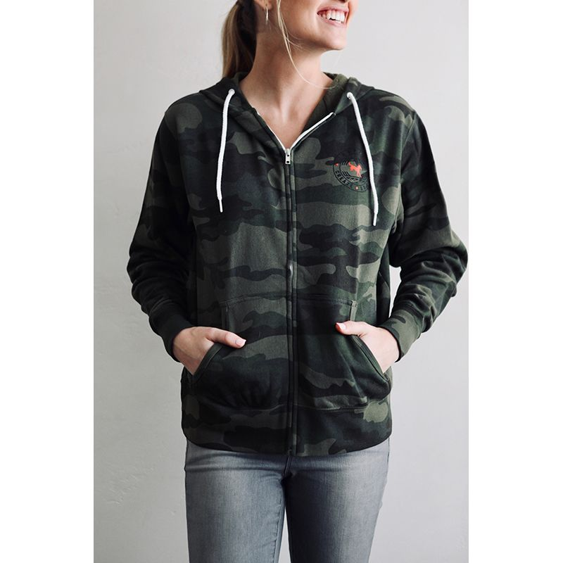 The Camp Camouflage Hoodie