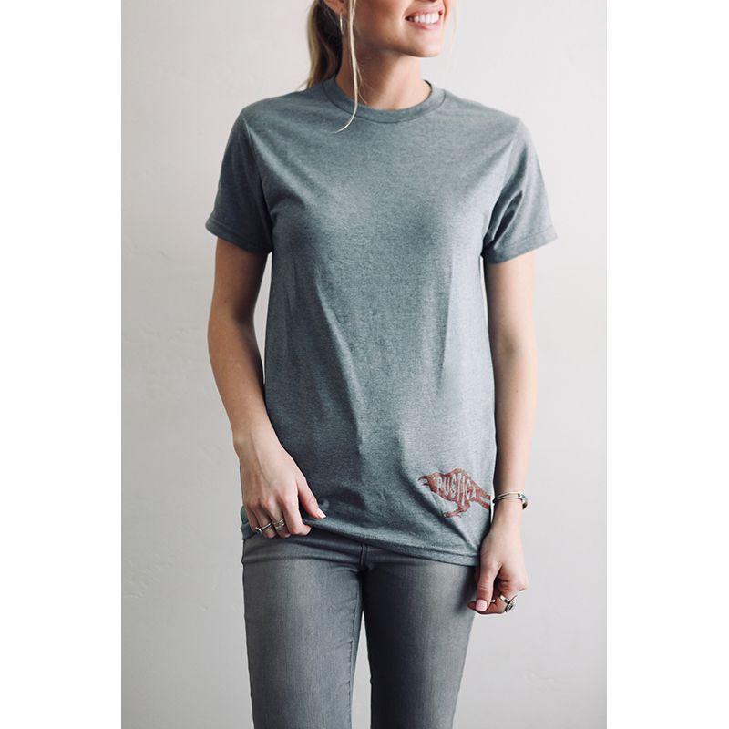 Crow Scout Grey T-Shirt