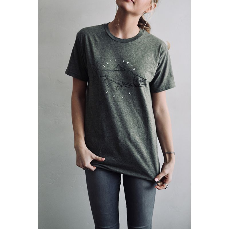 Tell Your Tale Light Green T-Shirt