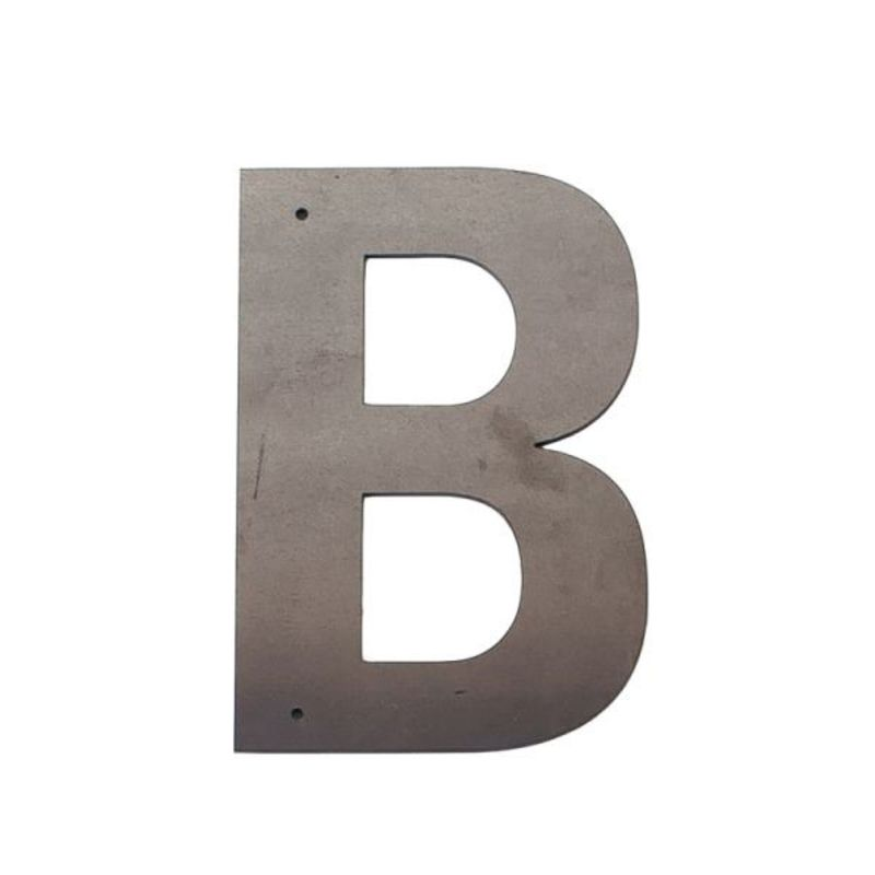 B Outdoor Letter