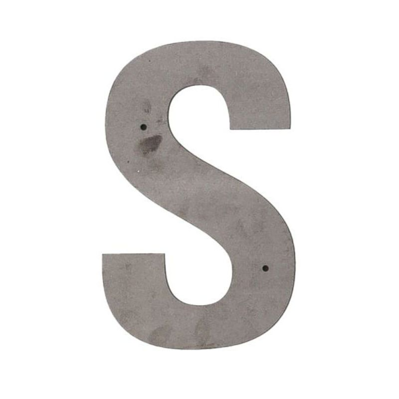 S Outdoor Letter