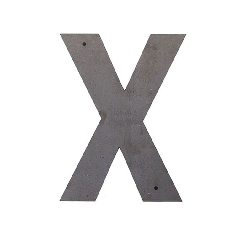 X Outdoor Letter