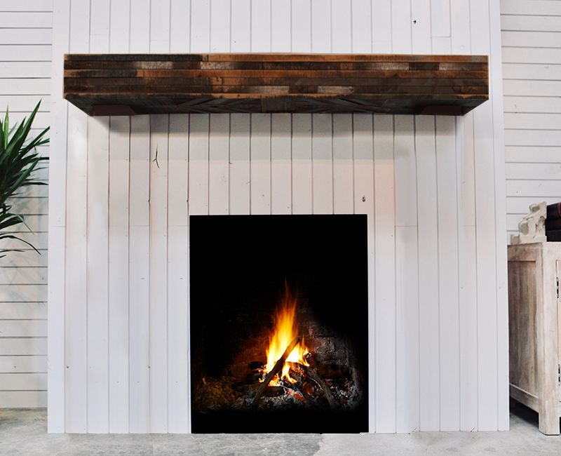 Prairie Camp Fireplace Mantel