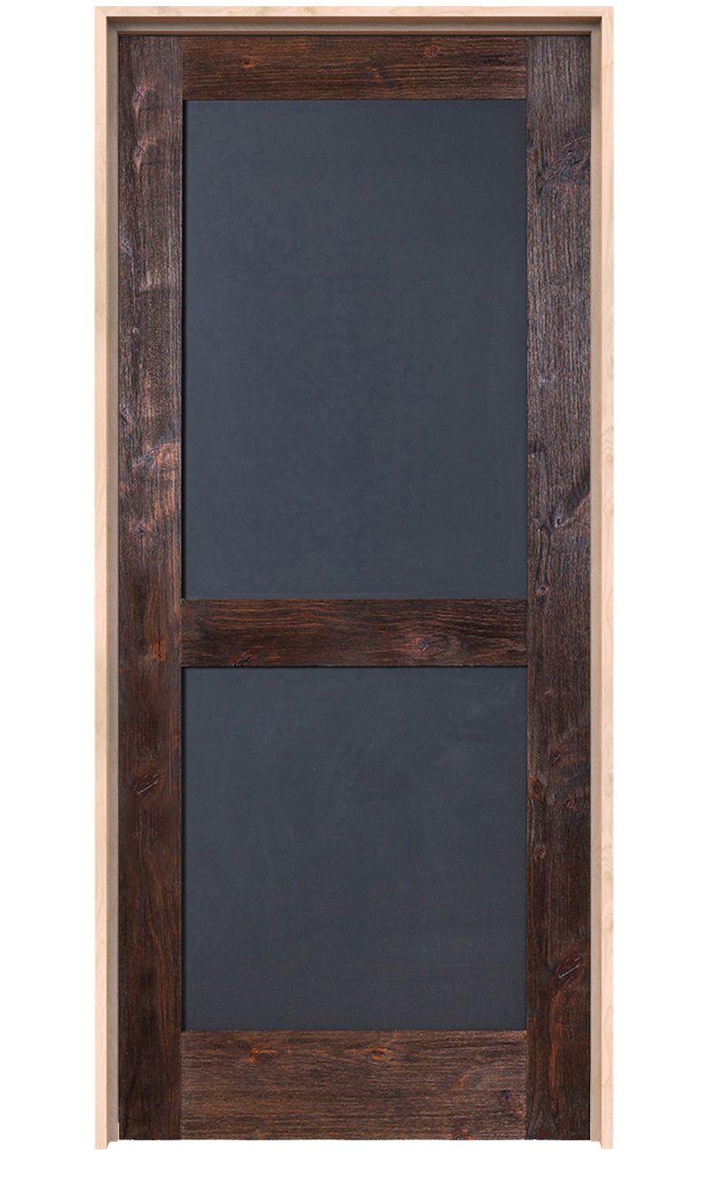 Chalkboard Interior Door
