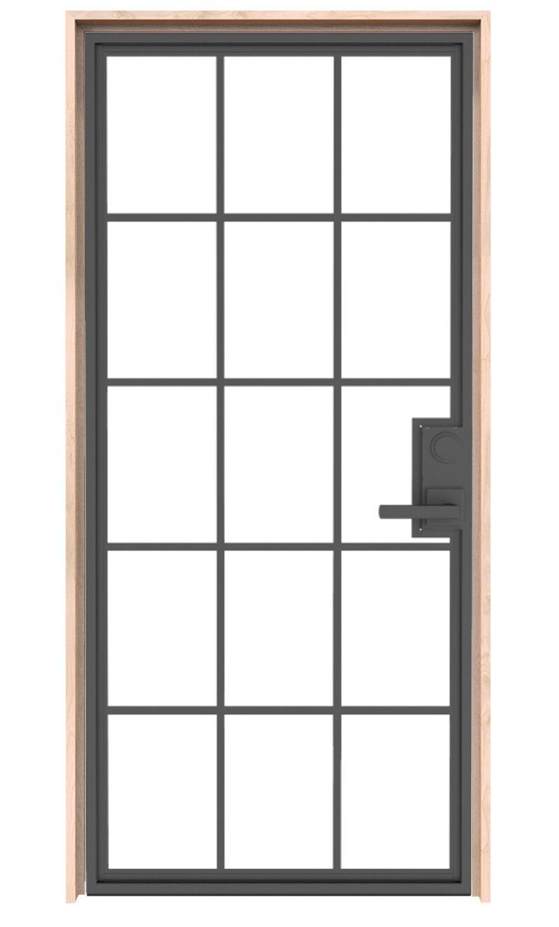 Mountain French Full Interior Door