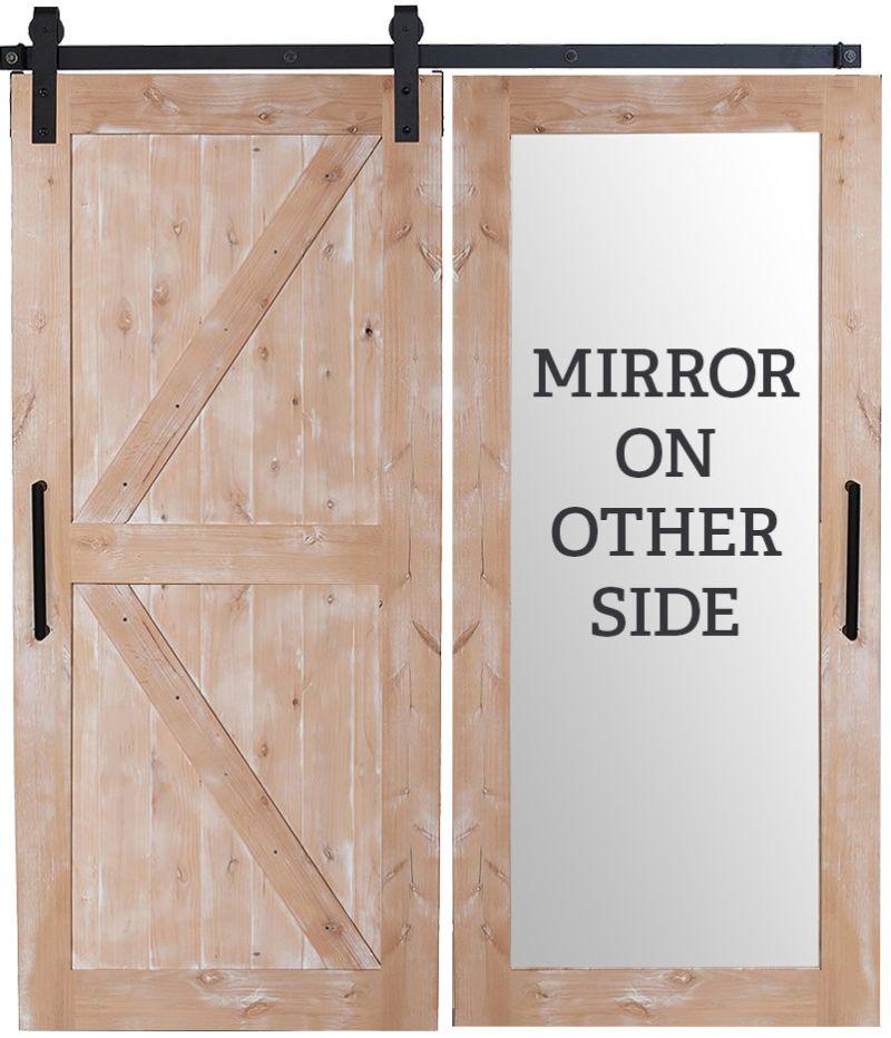 Stable Mirror Barn Door