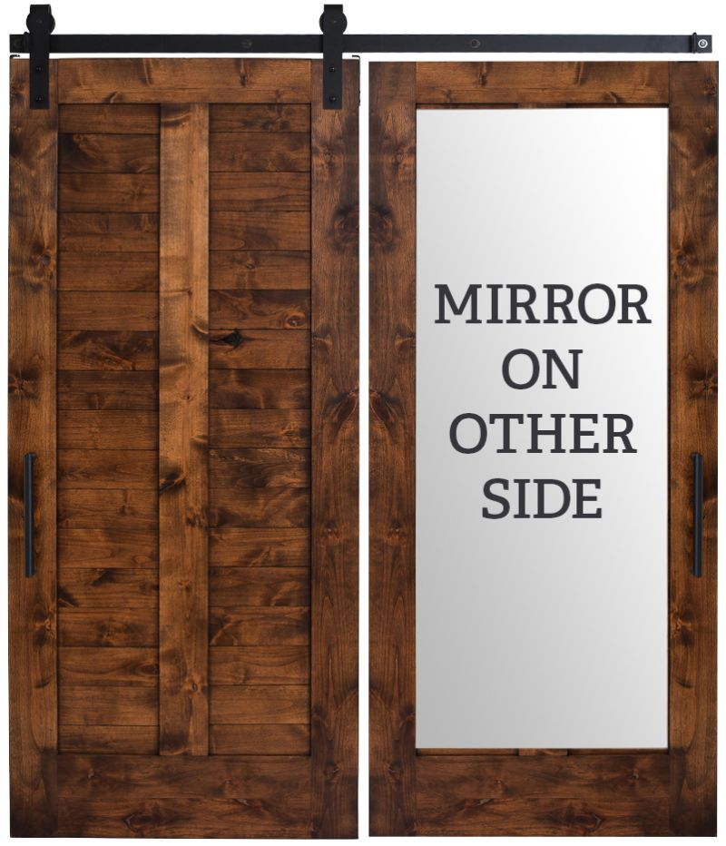 Heartland Mirror Barn Door