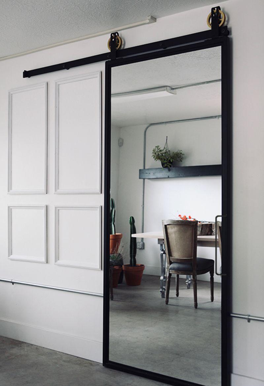 ponder mirror door
