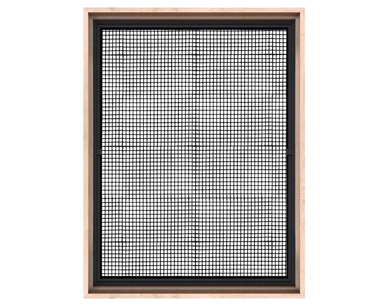 Rustica Steel Window With Metal Grid