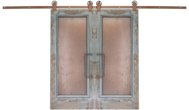 Abandoned Double Barn Door