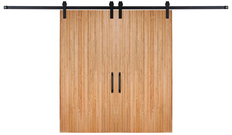 Bryce Double Barn Door